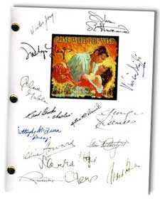 Gone With The Wind Signed Movie Script