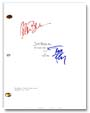 signed 30 rock TV script