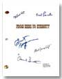 from here to eternity signed script